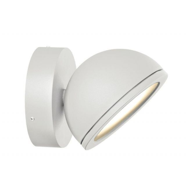 Mantra M6505 Everest 1 Light Outdoor Wall Light In White