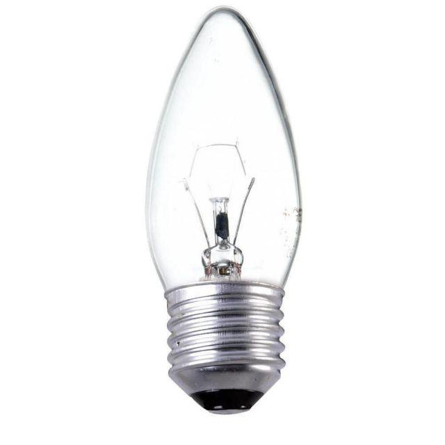 25 watt Edison Screw Candle Bulb
