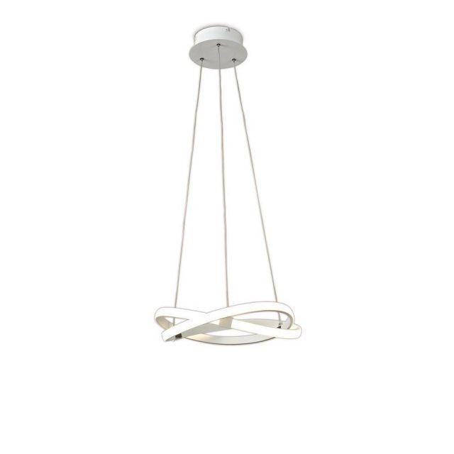 M5993 Infinity LED Small Ceiling Pendant Light In White