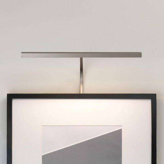 Astro 1374007 Mondrian Picture Light In Matt Nickel: Width - 400mm