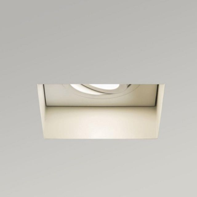 Astro 1248007 Trimless Square Adjustable Fire Rated White Downlight