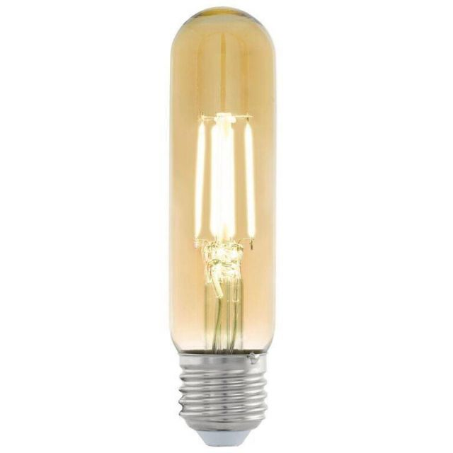 LED Filament Vintage Amber Tubular Shape Lamp 3.5 watt