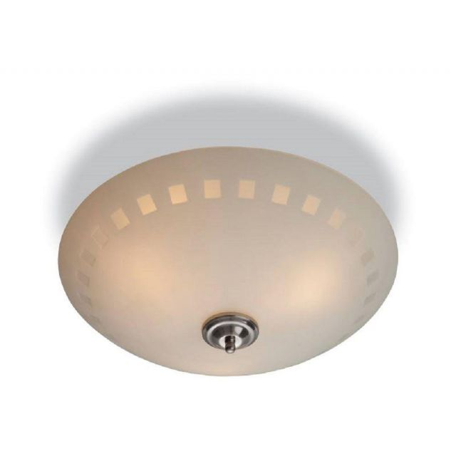 Firstlight 8315 Daisy 3 Light Flush Ceiling with Opal Patterned Glass