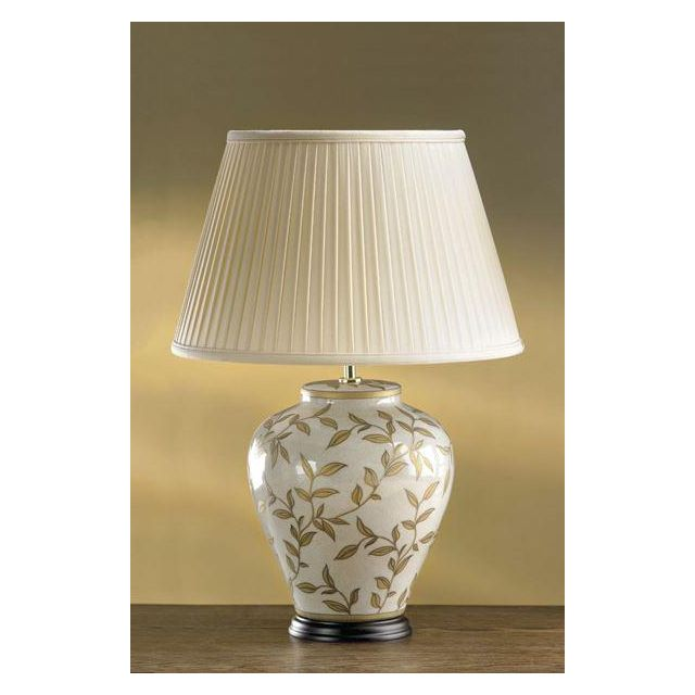 Elstead Leaves (82GL/LB31) Table Lamp in Brown/Gold