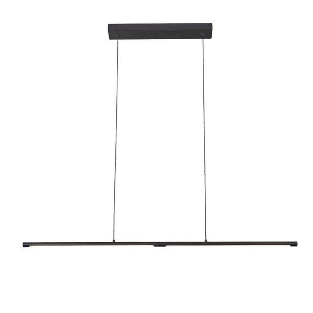 Mantra M6826 Torch 22 Watt LED Linear Ceiling Pendant  In Sand Black
