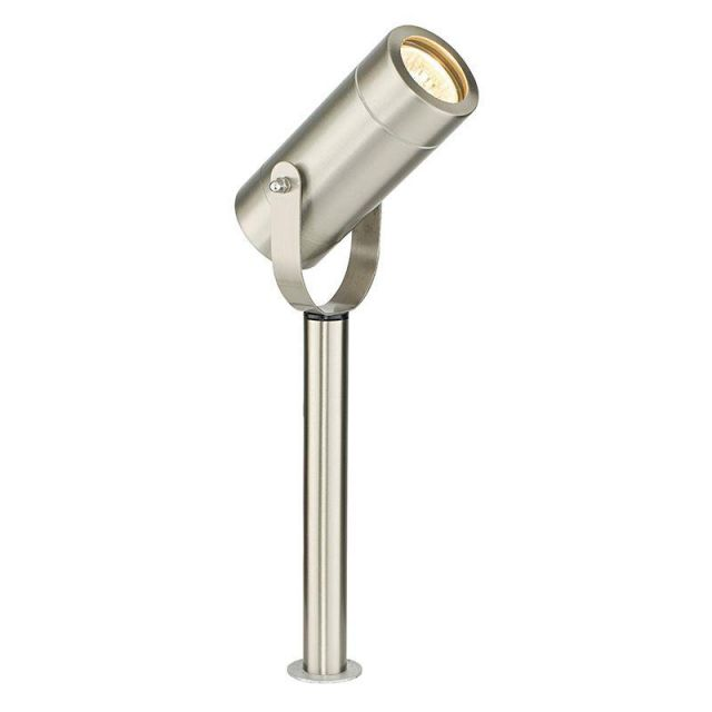 Saxby 13914 Palin Ground Spike Light in Brushed Stainless Steel Finish