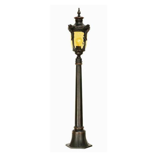 Elstead PH4/M Philadelphia medium exterior pillar lantern, IP43