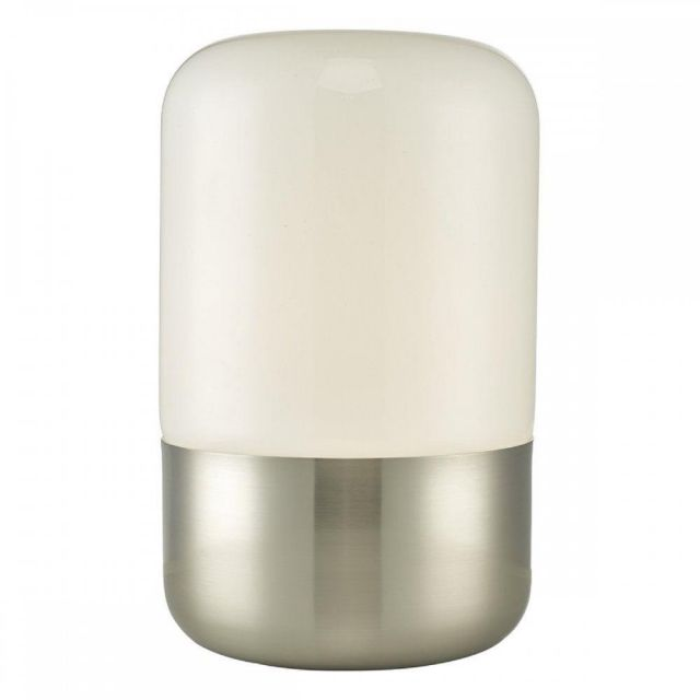 DEA4238 Deacon Touch Table Lamp With Satin Nickel Finish
