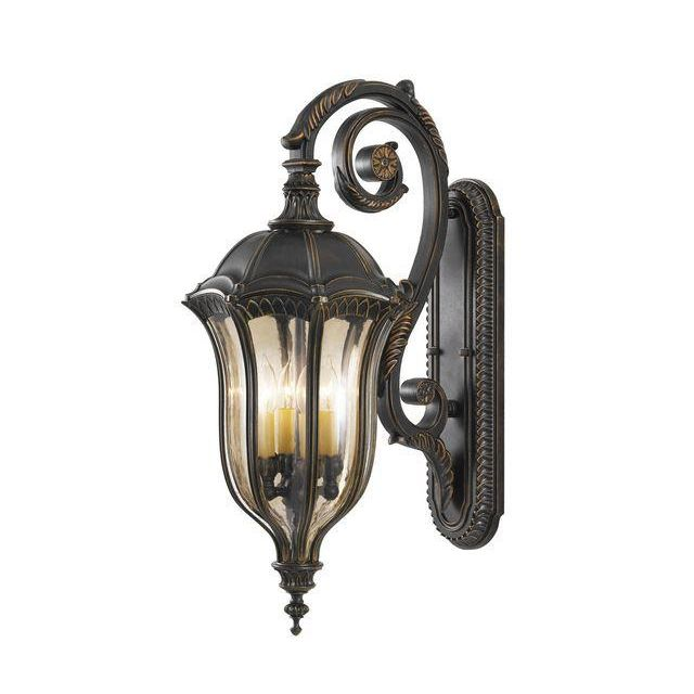 FE/BATONRG/L Outdoor 4 Light Die Cast Aluminium Wall Lantern
