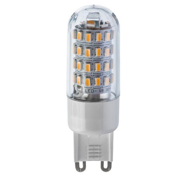 High Quality 3 Watt LED G9 Lamp - 300 Lumen Warm White