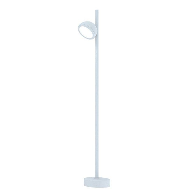 Mantra M6746 Everest 1 Light Outdoor Tall Post Light In White - Height: 900mm