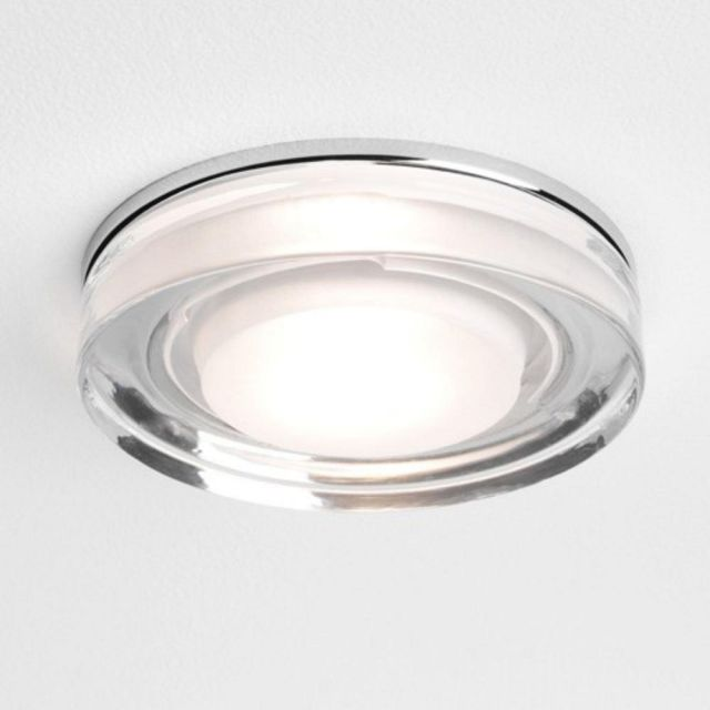 Astro 1229003 Vancouver Round Ceiling Recessed Downlight With Glass Finish