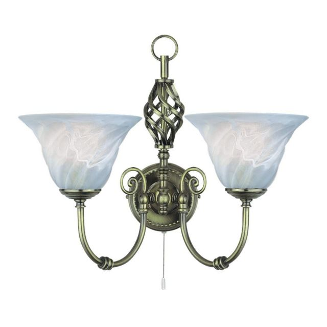 Searchlight 972-2 Cameroon Wrought Iron  Wall Light