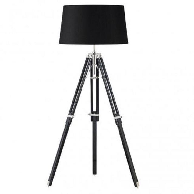 Endon EH-TRIPOD-FLBL Tripod Style Floor Light In Black - Base Only