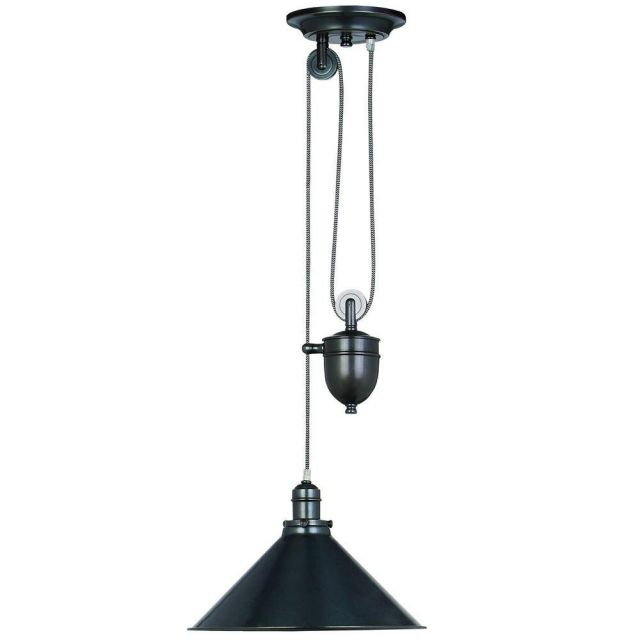 PROVENCE OB French style rise and fall ceiling Light in Bronze