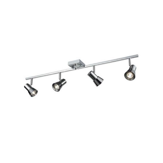 SP9034  Four Light Ceiling Bar Spotlight In Chrome