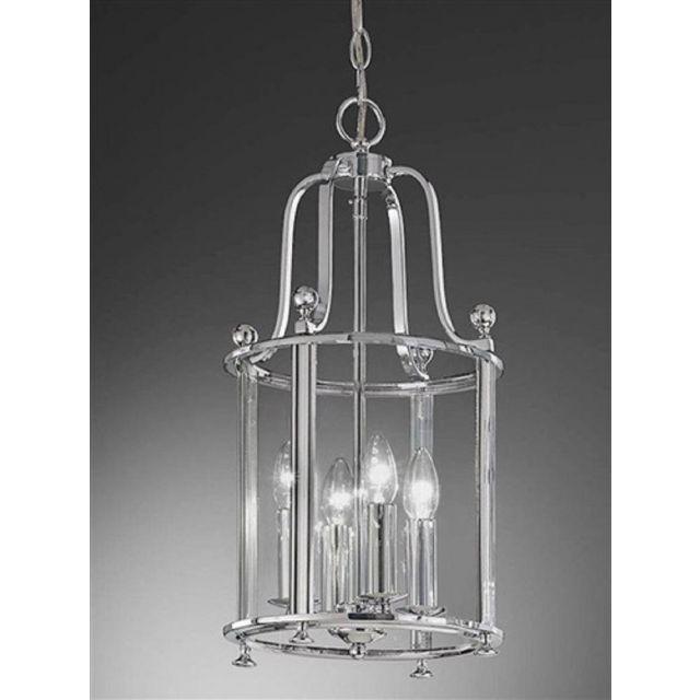 L7000/4 4 Light Chrome Hanging Lantern