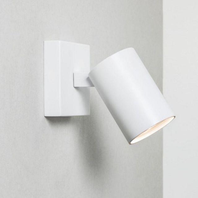 Astro 1286001 Ascoli Single Wall or Ceiling White Spotlight