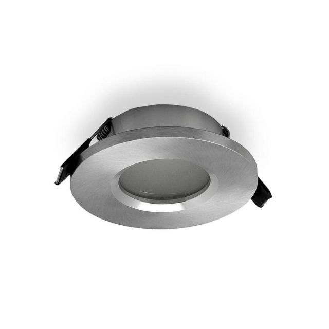 Mantra M6406 Atlantis Recessed Ceiling Downlight In Aluminium