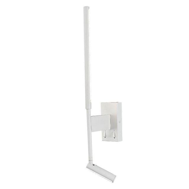 Mantra M6702 Torch 2 Light 6 Watt + 3 Watt LED Wall And Reading Light In Sand White - Switched