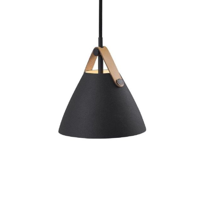 Nordlux 84303003 Strap 16 1 Light Ceiling Pendant In Black With Black Cable