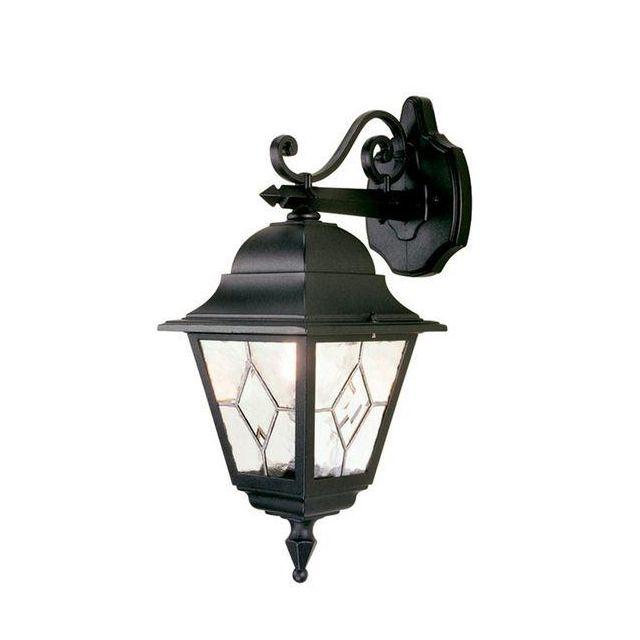 Elstead NR2 Norfolk traditional, black outside wall light, IP44