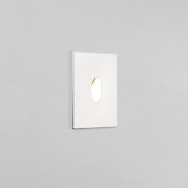 Astro 1175001 Tango Bathroom Recessed LED Wall Light In White