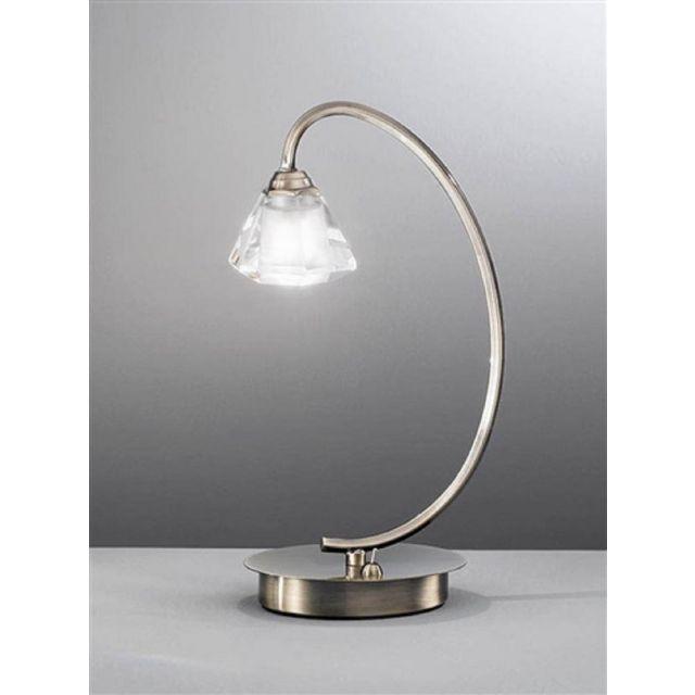 T975 Twist 1 Light Bronze Table Lamp