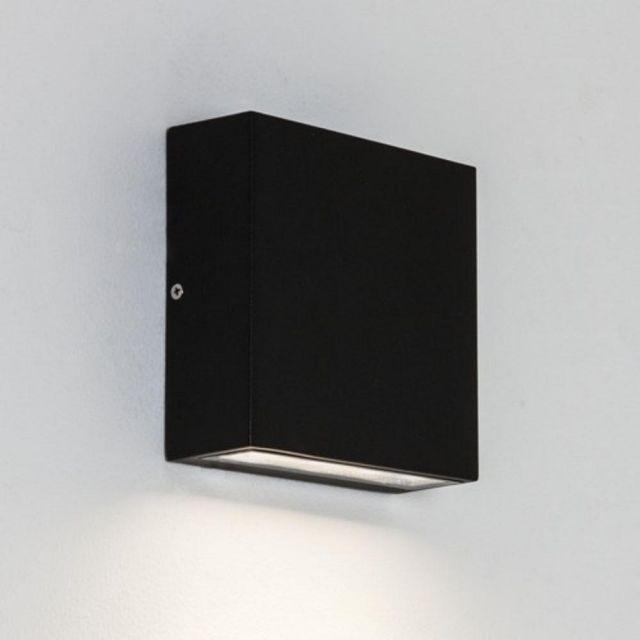 Astro 1331001 Elis Single Outdoor Wall Light in Black Finish