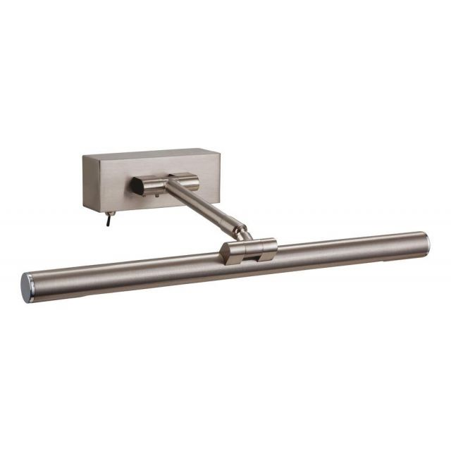 Firstlight PL20BS Low Energy Picture Light Brushed Steel