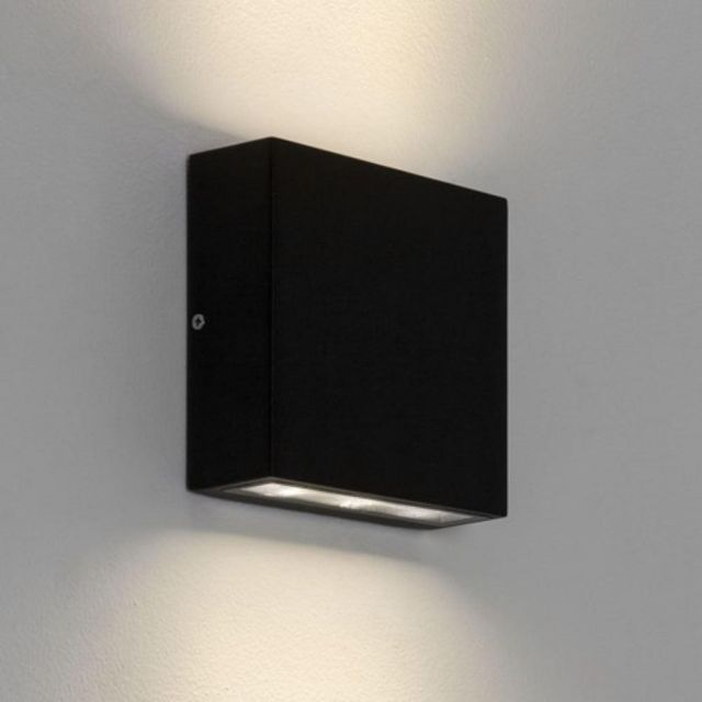 Astro 1331002 Elis Twin Outdoor Wall Light in Black Finish