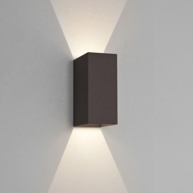 Astro 1298002 Oslo 160 LED Outdoor Wall Light in Painted Black