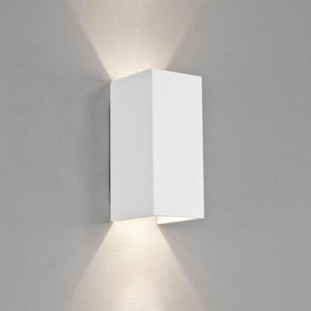 Astro 1187003 Parma 210 Rectangular White Modern Wall Bracket