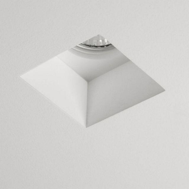 Astro 1253002 Blanco Square White Downlight
