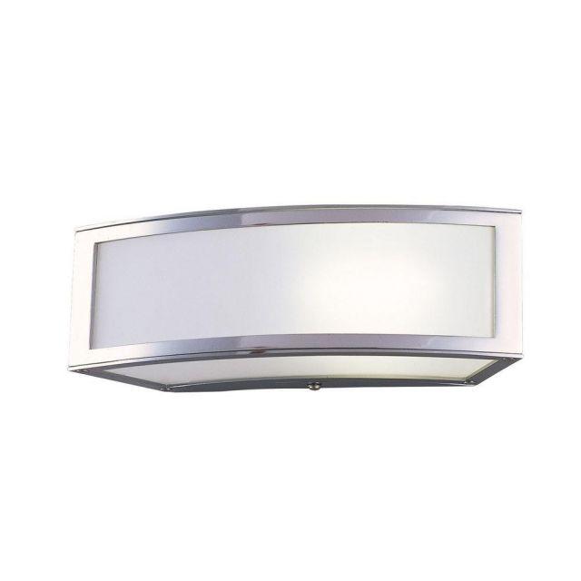 Mantra M0393 Duna 1 Light Wall/Ceiling Light In Chrome