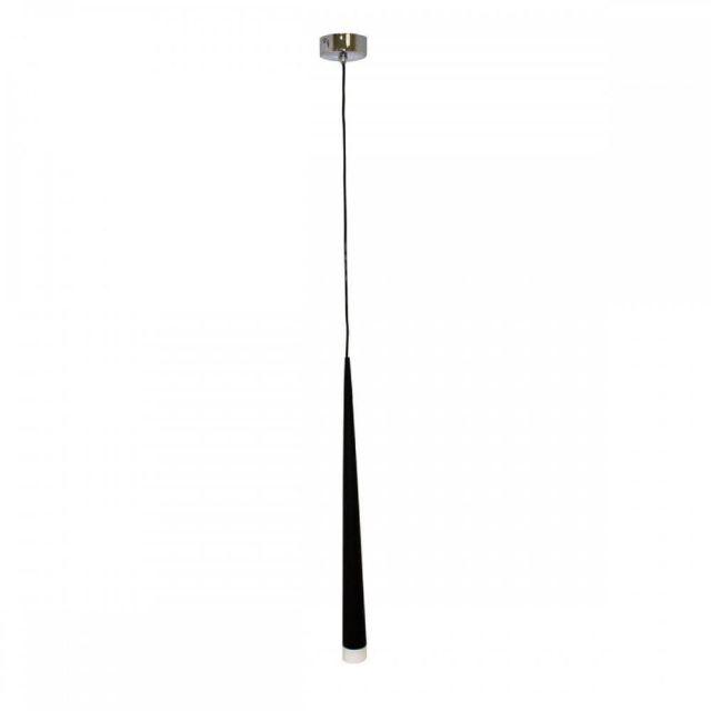 AZzardo AZ0116 Stylo 1 1 Light Ceiling Pendant In Black
