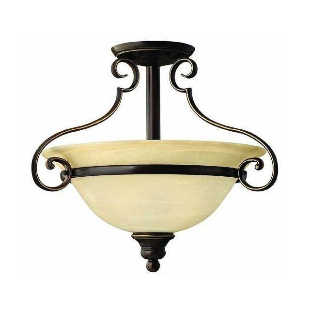 HK/CELLO/SF 2 Light Antique Bronze Simple Uplighter