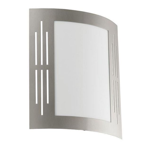 82309 City Outdoor Stainless Steel Wall Light