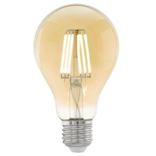 LED Filament Vintage Amber GLS Shape Lamp 4 watt