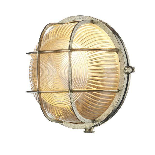 David Hunt Lighting ADM5040 Admiral Brass Outdoor Wall Light IP64