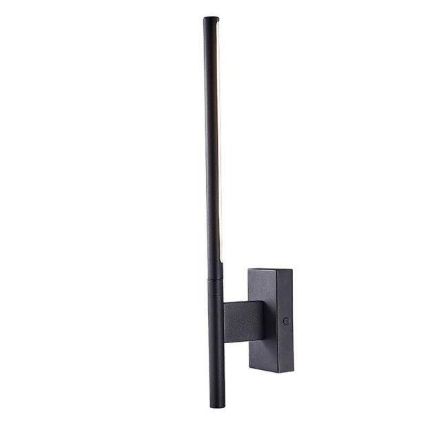 Mantra M6701 Torch 1 Light 6 Watt LED Wall Light In Sand Black