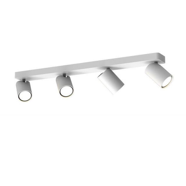 Mantra M6280 Sal 4 Light Bar Mounted Spotlight In White
