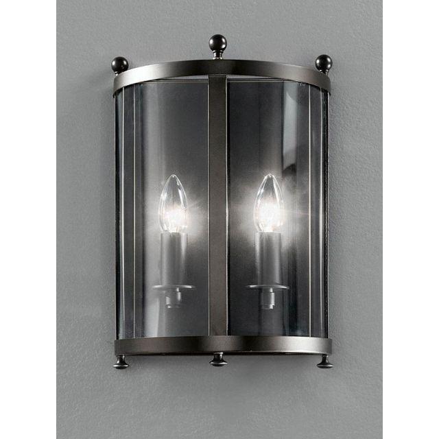 L7001/2 Pultney2 Light Antique Bronze Wall Lantern