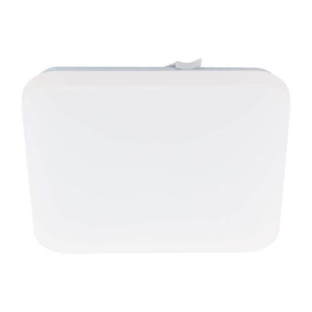 Eglo 97874 Frania LED Square Flush Ceiling Light In White - L: 280mm