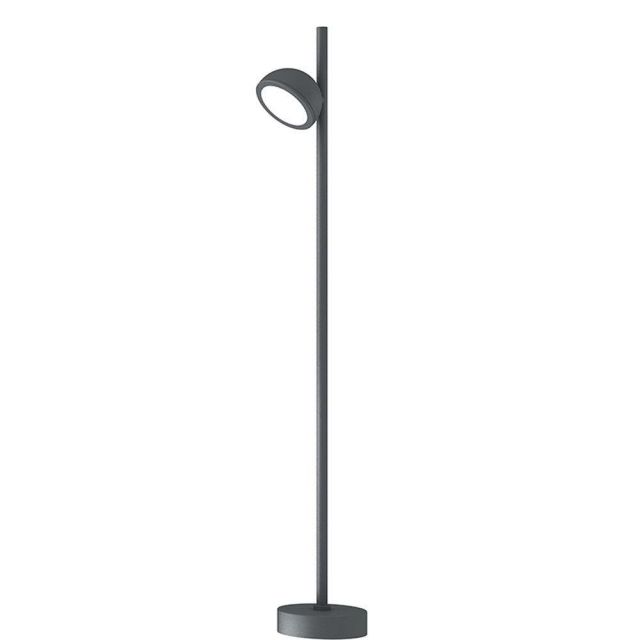 Mantra M6747 Everest 1 Light Outdoor Tall Post Light In Anthracite - Height: 900mm
