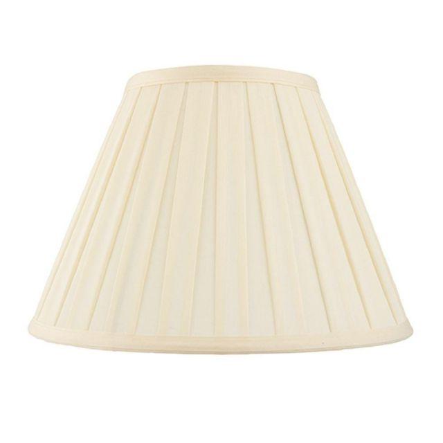 Endon CARLA-18 inch Cream Pleated Empire Lamp Shade