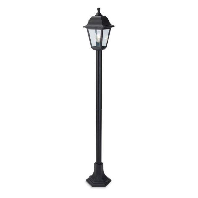 Firstlight 8348 Oslo Post Lamp In Black Resin