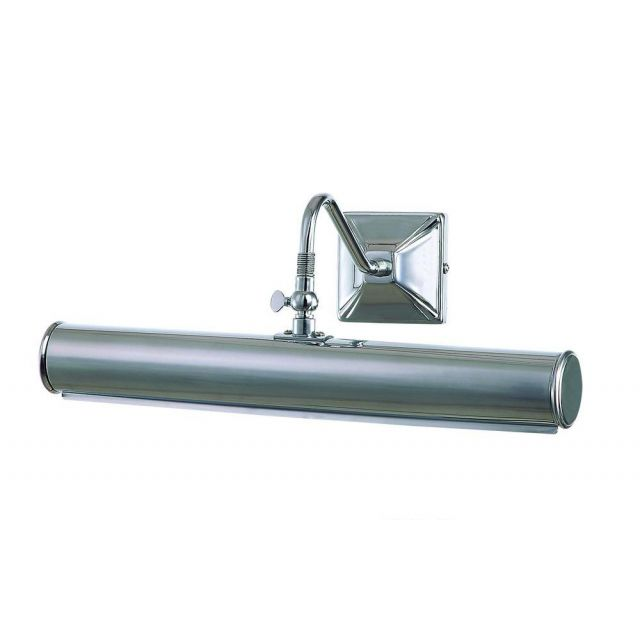PL1/20 PC Large Traditional Picture Light in Polished Chrome