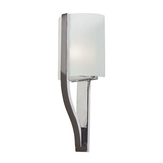KL/FREEPORT BATH Freeport 1 Light Bathroom Wall Light In Polished Chrome