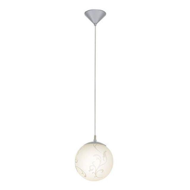 90741 Rebecca 1 Light Small Globe Ceiling Pendant
